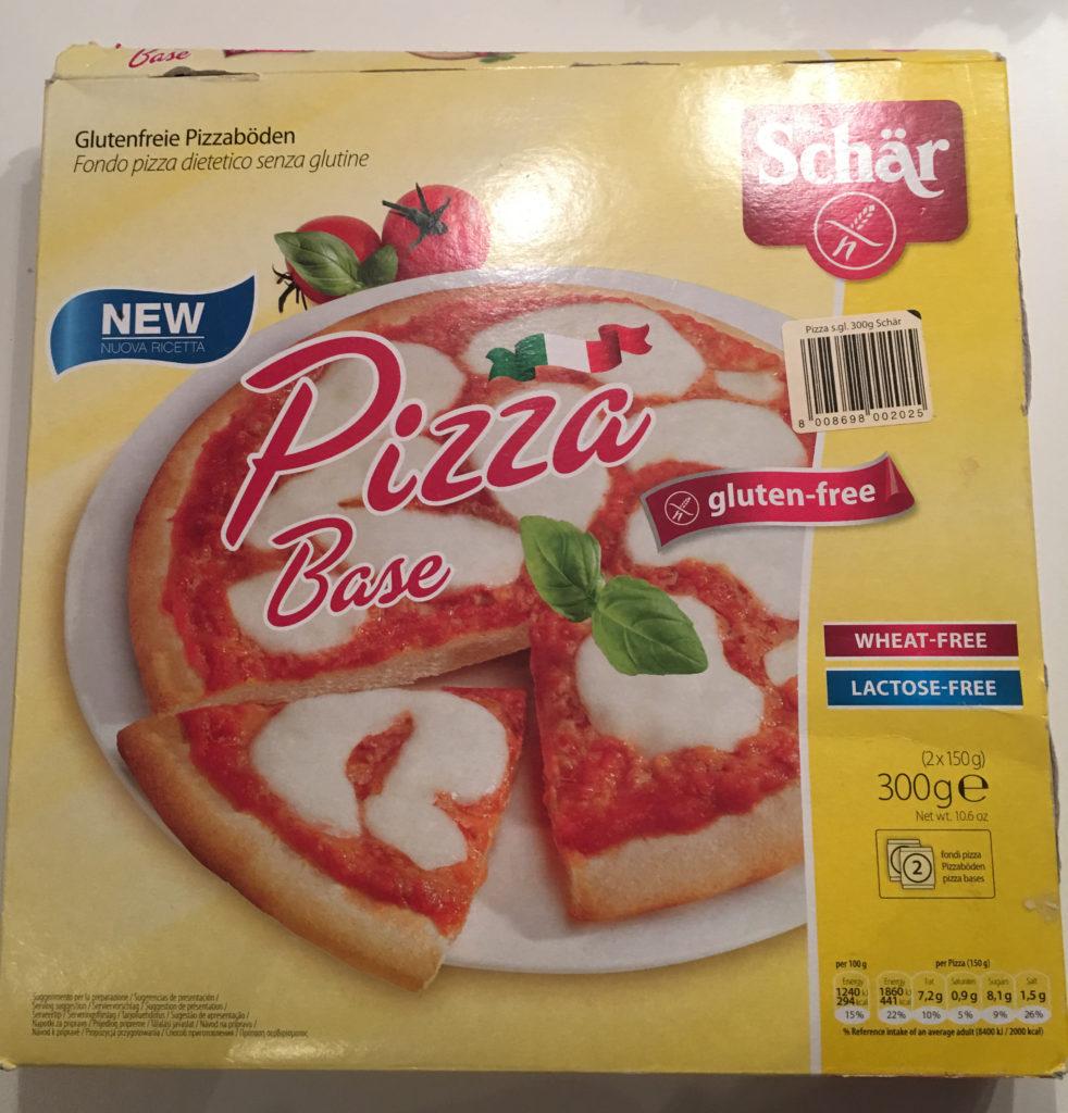 Schär glutenfri pizzabunn