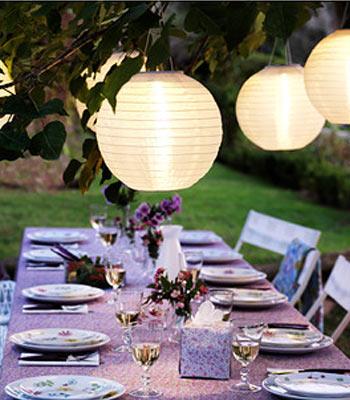 lanterner hageparty