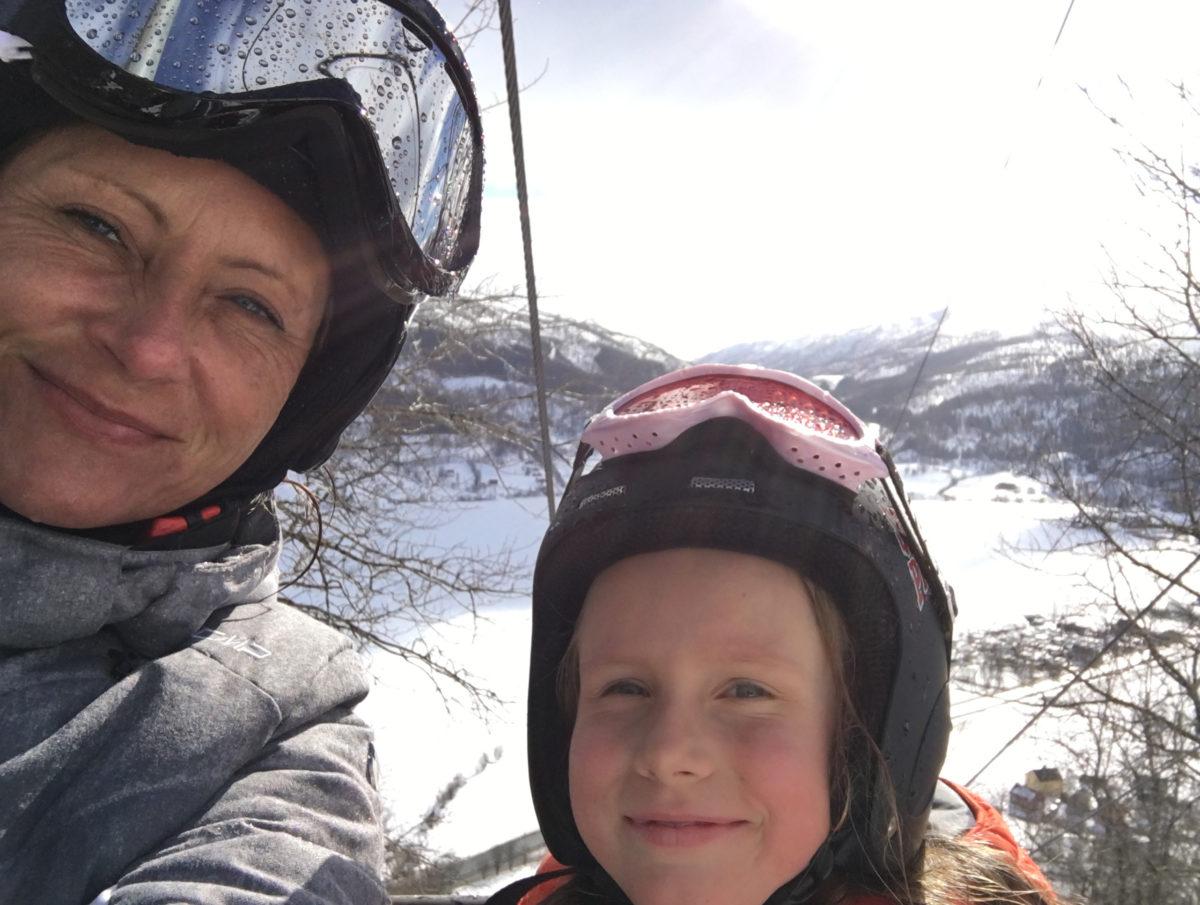 Linda og Isabell i Oppheimstrekket